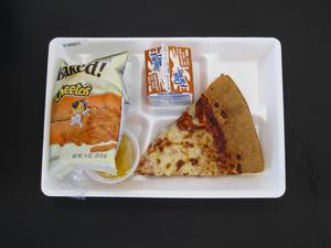 Primary view of object titled 'Student Lunch Tray: 01_20110217_01A5571'.