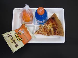 Primary view of object titled 'Student Lunch Tray: 01_20110217_01A5602'.