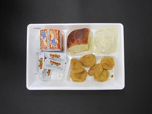 Primary view of object titled 'Student Lunch Tray: 01_20110217_01B5966'.