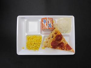 Primary view of object titled 'Student Lunch Tray: 01_20110217_01B6022'.