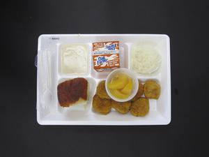 Primary view of object titled 'Student Lunch Tray: 01_20110217_01B6043'.