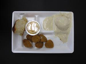 Primary view of object titled 'Student Lunch Tray: 01_20110217_01B6045'.
