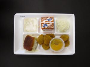 Primary view of object titled 'Student Lunch Tray: 01_20110217_01B6077'.
