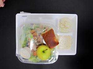 Primary view of object titled 'Student Lunch Tray: 01_20110217_01B6105'.