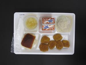 Primary view of object titled 'Student Lunch Tray: 01_20110217_01B6108'.