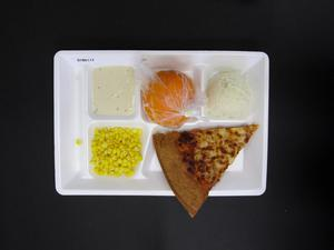 Primary view of object titled 'Student Lunch Tray: 01_20110217_01B6117'.