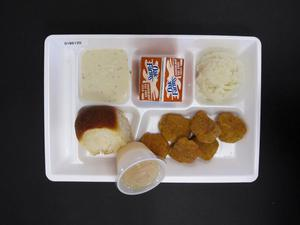 Primary view of object titled 'Student Lunch Tray: 01_20110217_01B6120'.