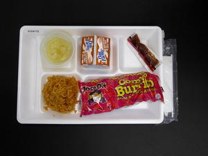 Primary view of object titled 'Student Lunch Tray: 01_20110217_01C4172'.