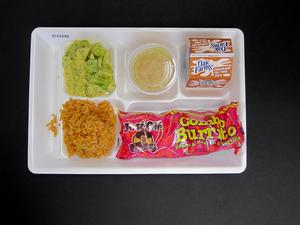 Primary view of object titled 'Student Lunch Tray: 01_20110217_01C4290'.