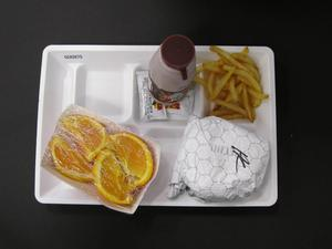 Primary view of object titled 'Student Lunch Tray: 02_20110328_02A5675'.