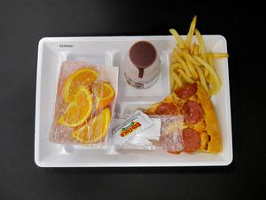 Primary view of object titled 'Student Lunch Tray: 02_20110328_02A5681'.