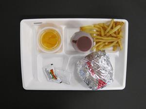Primary view of object titled 'Student Lunch Tray: 02_20110328_02A5697'.
