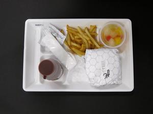 Primary view of object titled 'Student Lunch Tray: 02_20110328_02A5756'.