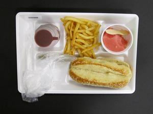 Primary view of object titled 'Student Lunch Tray: 02_20110328_02A5888'.