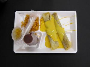 Primary view of object titled 'Student Lunch Tray: 02_20110328_02C4238'.