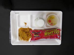 Primary view of object titled 'Student Lunch Tray: 02_20110328_02C4257'.