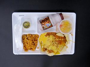 Primary view of object titled 'Student Lunch Tray: 02_20110328_02C4270'.
