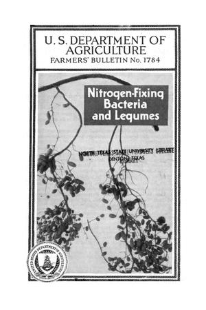Primary view of object titled 'Nitrogen-fixing bacteria and legumes.'.