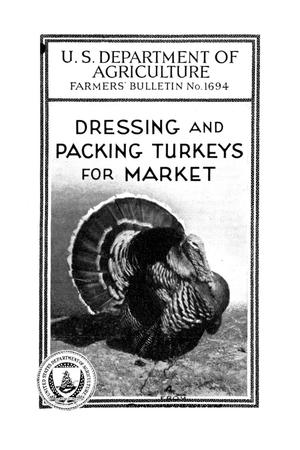 Primary view of object titled 'Dressing and packing turkeys for market.'.