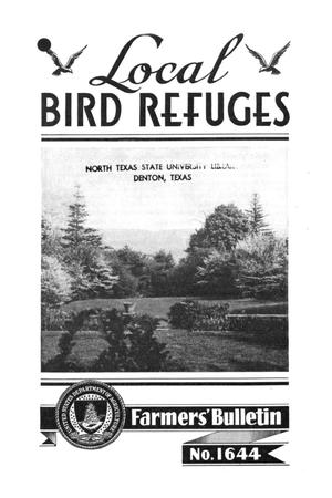 Primary view of object titled 'Local bird refuges.'.