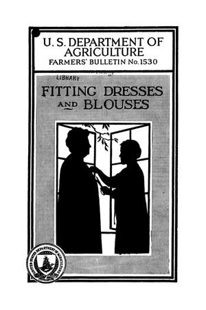 Primary view of object titled 'Fitting dresses and blouses.'.