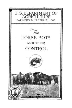 Primary view of object titled 'The horse bots and their control.'.