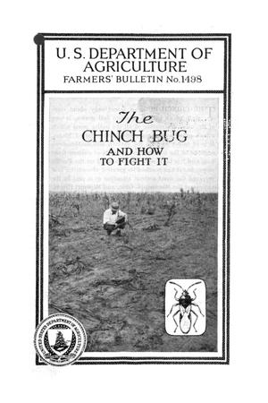 Primary view of object titled 'The chinch bug and how to fight it.'.