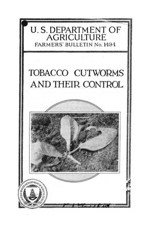 Primary view of object titled 'Tobacco cutworms and their control.'.
