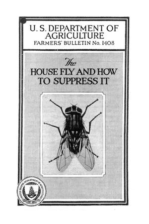 Primary view of object titled 'The house fly and how to suppress it.'.