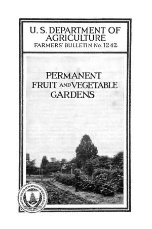 Primary view of object titled 'Permanent fruit and vegetable gardens.'.