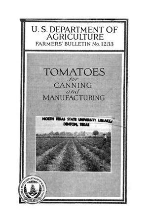 Primary view of object titled 'Tomatoes for canning and manufacturing.'.