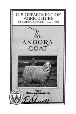 Primary view of object titled 'The Angora goat.'.