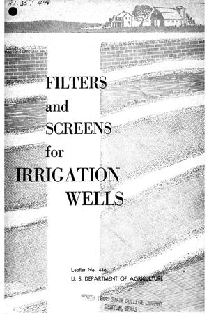 Primary view of object titled 'Filters and Screens for Irrigation Wells.'.