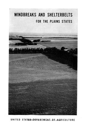 Primary view of object titled 'Windbreaks and Shelterbelts for the Plains States.'.