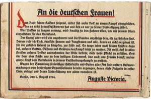 An die deutschen frauen!