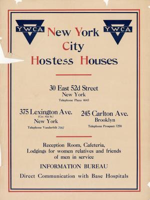 New York City Hostess Houses.