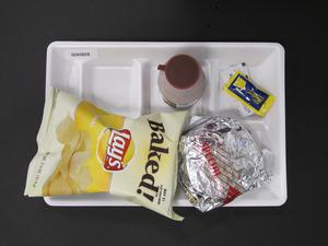 Primary view of object titled 'Student Lunch Tray: 02_20110329_02A5828'.