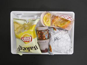 Primary view of object titled 'Student Lunch Tray: 02_20110329_02A5829'.