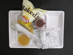Primary view of object titled 'Student Lunch Tray: 02_20110329_02A5830'.