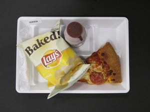 Primary view of object titled 'Student Lunch Tray: 02_20110329_02A5838'.