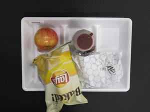 Primary view of object titled 'Student Lunch Tray: 02_20110329_02A5839'.