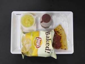 Primary view of object titled 'Student Lunch Tray: 02_20110329_02A5840'.