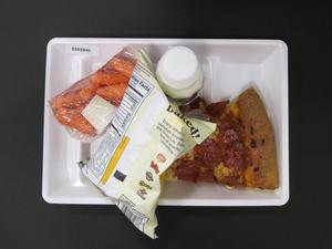 Primary view of object titled 'Student Lunch Tray: 02_20110329_02A5845'.