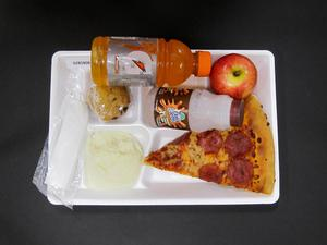 Primary view of object titled 'Student Lunch Tray: 02_20110329_02B5808'.