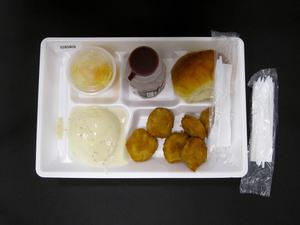 Primary view of object titled 'Student Lunch Tray: 02_20110329_02B5809'.