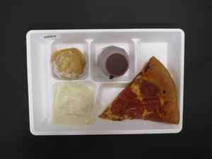 Primary view of object titled 'Student Lunch Tray: 02_20110329_02B5818'.