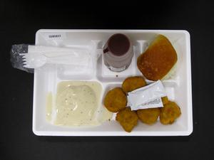 Primary view of object titled 'Student Lunch Tray: 02_20110329_02B5837'.