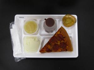 Primary view of object titled 'Student Lunch Tray: 02_20110329_02B5978'.