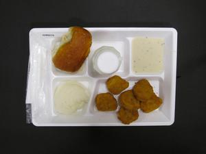 Primary view of object titled 'Student Lunch Tray: 02_20110329_02B6010'.