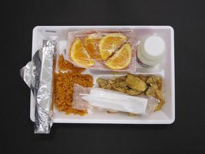 Primary view of object titled 'Student Lunch Tray: 02_20110329_02C5897'.